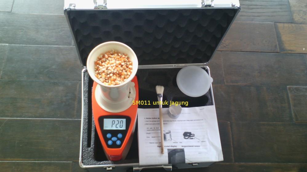 SM011 untuk mengukur kadar air pada Jagung