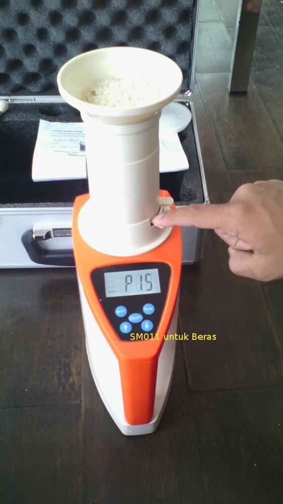 Sm011 untuk mengukur kadar air pada beras
